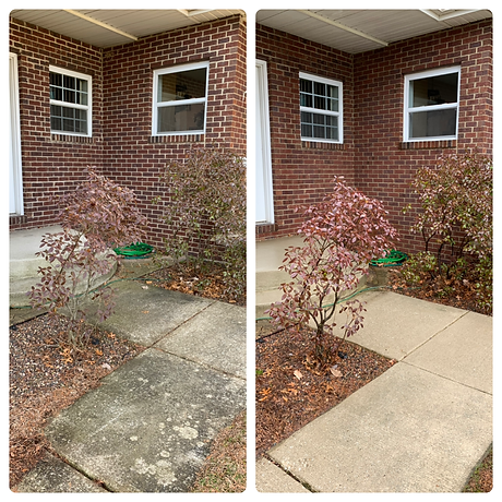 Entry way cleaning