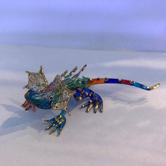 Cameron Multicolor Glass Figurine