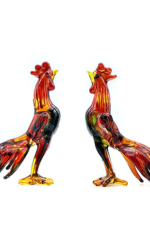 Glass Cockfighting (1pcs)