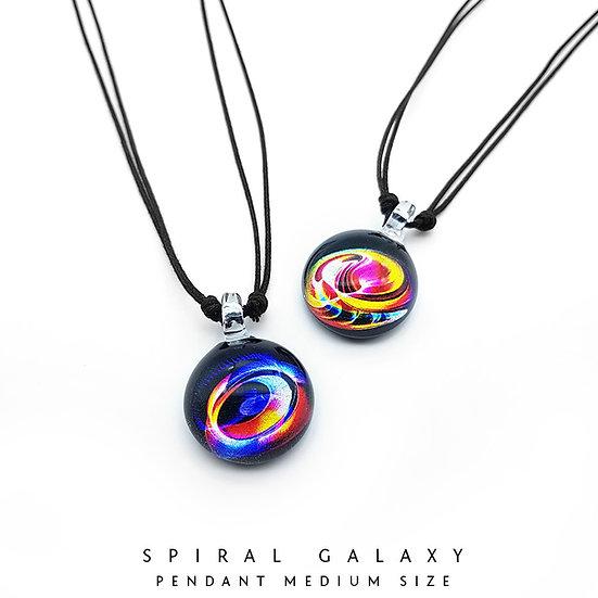 Spiral Galaxy Pendant