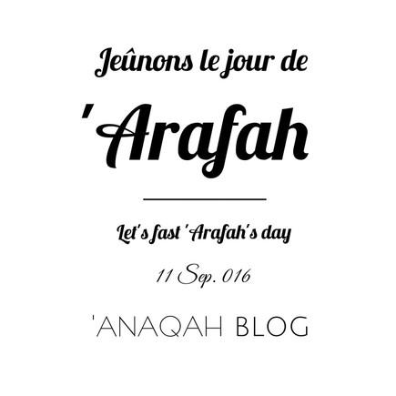 9 astuces pour le 9eme jour, 'Arafah