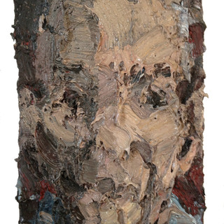 Frouma Lev oil/pigments on cotton, 24x16 inches. 2011