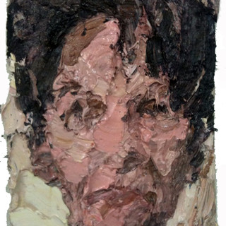 Eve Hartheimer, oil/pigments on cotton, 24x16 inches. 2009