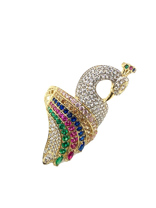 Peacock Ring Striped