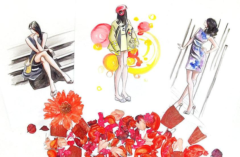 Bulk Illustration Designs for Commercial Use