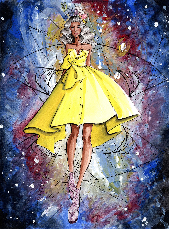 Velvet Kat Illustration