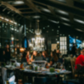 Blurred restaurant or cafe background. T