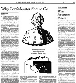 NEW YORK TIMES OP ED