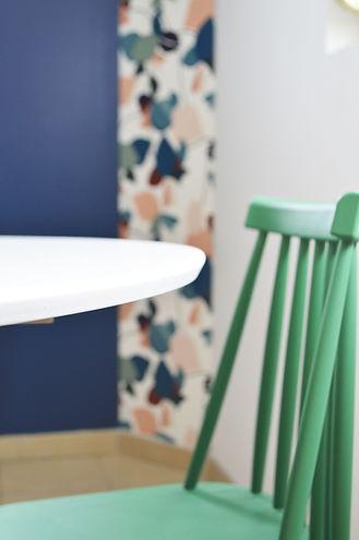 Apporter de la lumière et de la couleur pour une  cuisine originale et personnelle