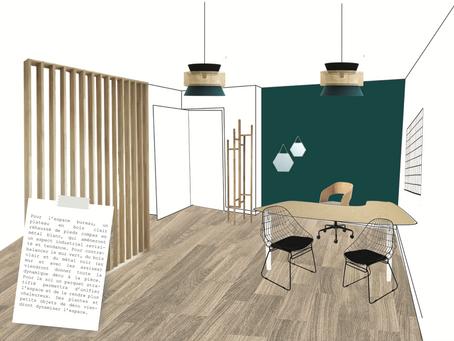 Transformer un appartement en un cabinet médical pratique et stylé ?  Check !