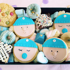 Dessert Box Baby Beanie