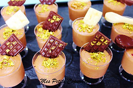 Dessert Cup - Chocolate Mousse with Mini