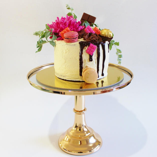 Small Cake - Birthday Cake Chocolate Drip