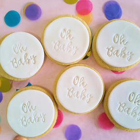 Cookie - Oh Baby White