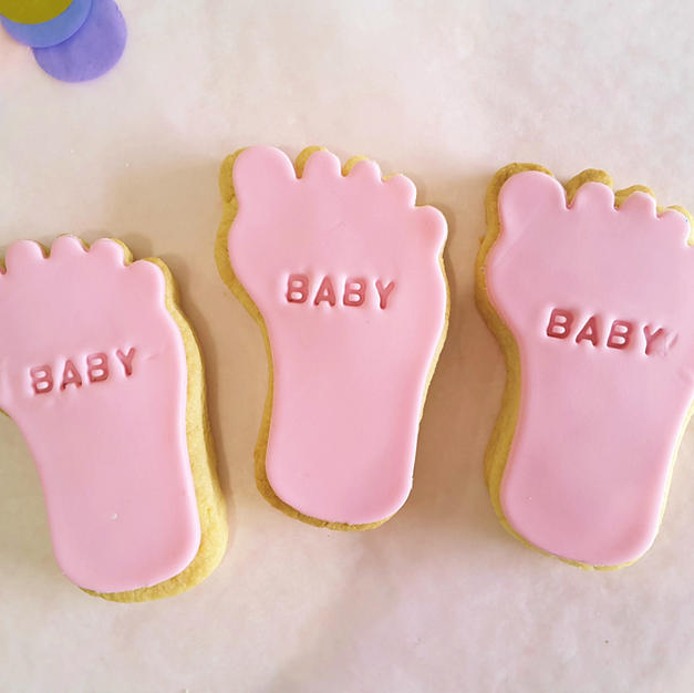 Cookie - Baby Feet Girl Pink
