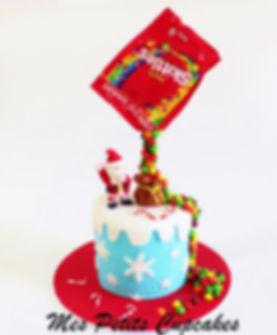 Christmas Xmas Santa Cake