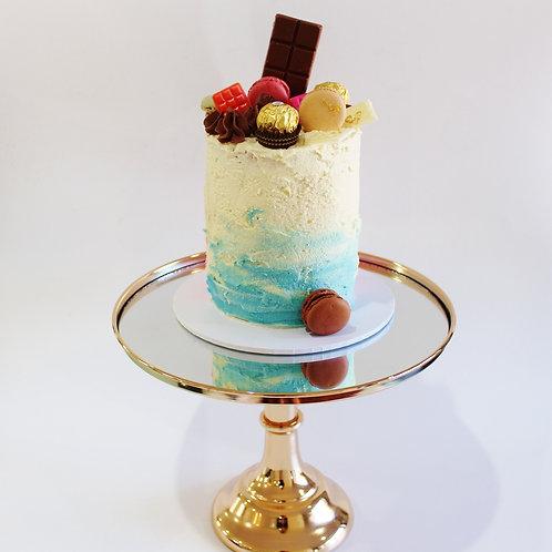 Small Cake - Ombre Blue