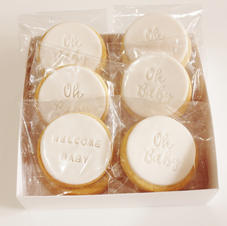 Cookies Welcome Baby White