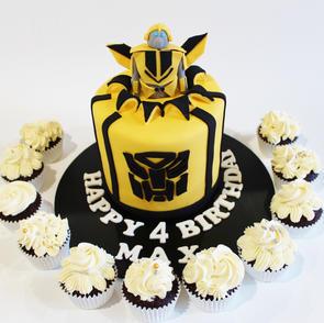Birthday Cake - Transformers Bumblebee w