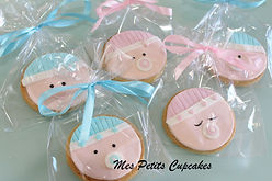 Birthday Baby Shower Cookies