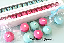 Baby Shower Baby Reveal Macarons