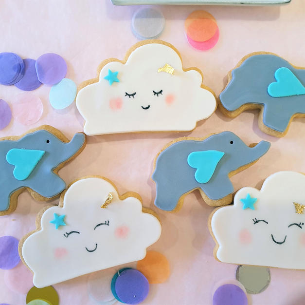 Cookies Baby Elephant Blue