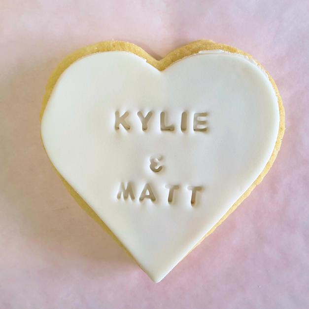 Cookie - Engagement-Wedding Personalised