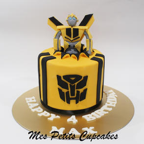 Birthday Cake - Bumblebee Transformers B