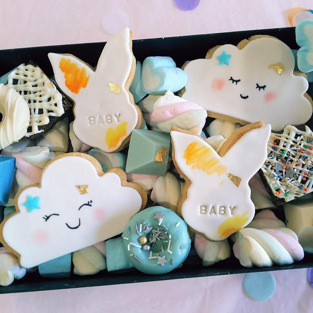Dessert Box Baby Shower Baby Bun