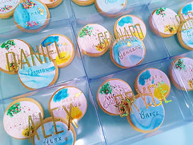Cookies Gift Box Custom Personalised Nam