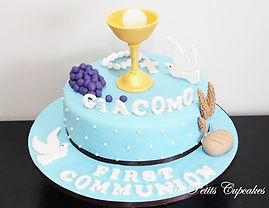 Baptism Communion Confirmation Cakes