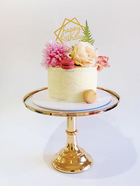 Small Cake - Birthday Cake Pink