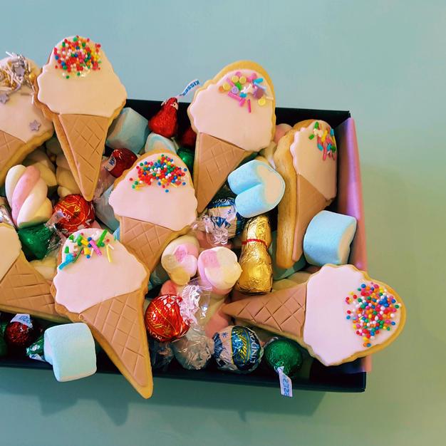 Cookies Dessert Gift Box - Ice Cream Con
