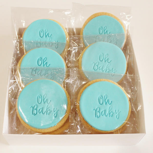 Cookies Oh Baby Blue