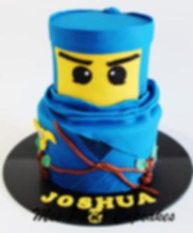 Birthday Cake - Ninjago Blue Birthday Ca