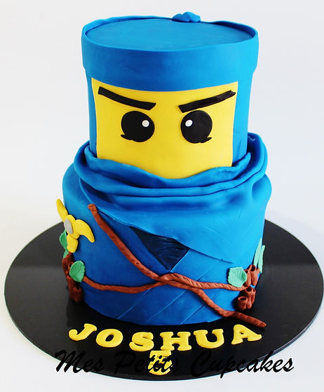 Birthday Cake - Ninjago Blue Birthday Ca