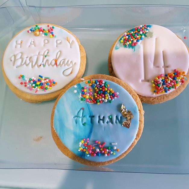 Cookies Gift Box Happy Birthday Custom P