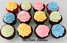 Birthday Baby Shower Cupcakes - Mes Petits Cupcakes Bullen Doncaster Kew Balwyn Templestowe Melbourne
