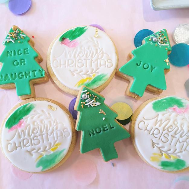 Cookies Green Xmas Cookies