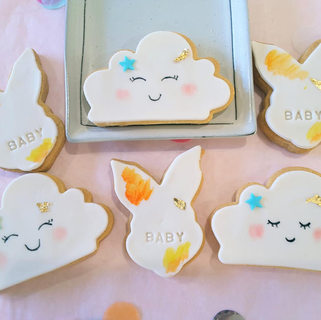 Cookies Baby Bun In The Clouds Cookie