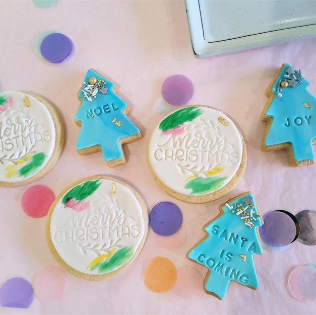 Cookies Blue Xmas Cookies