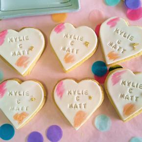 Cookie Heart - Engagement-Wedding Anniversary