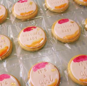 Cookies - Welcome Baby Its A Girl Custom