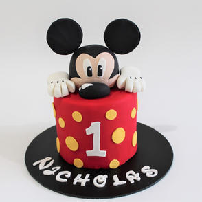 Birthday Cake - Mickey Mouse First Birthday Cake.JPG