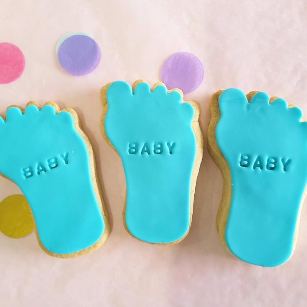 Cookie - Baby Feet Boy Blue