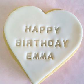 Cookie - Happy Birthday Name Personalise