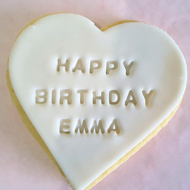 Cookie - Happy Birthday Name Personalise