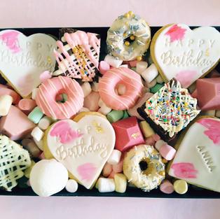 Dessert Box Happy Birthday Heart Pink.jp