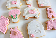 Baby Shower Oh Baby mix set cookies