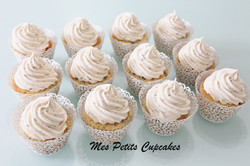 Wedding Cupcakes in Cupcake Wrappers